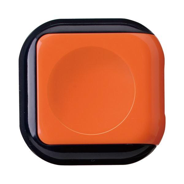 (まとめ) サンビー 朱肉 シュイングベベ キャロットオレンジ SG-B01 1個 【×30セット】