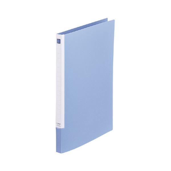 (まとめ)キングジム レターファイル スライドインA4タテ 120枚収容 背幅18~30mm 青 397N 1冊 【×30セット】