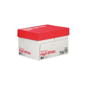 (まとめ)PPC パソコン PAPER High WhiteB4 1箱(2500枚:500枚×5冊) 【×2セット】