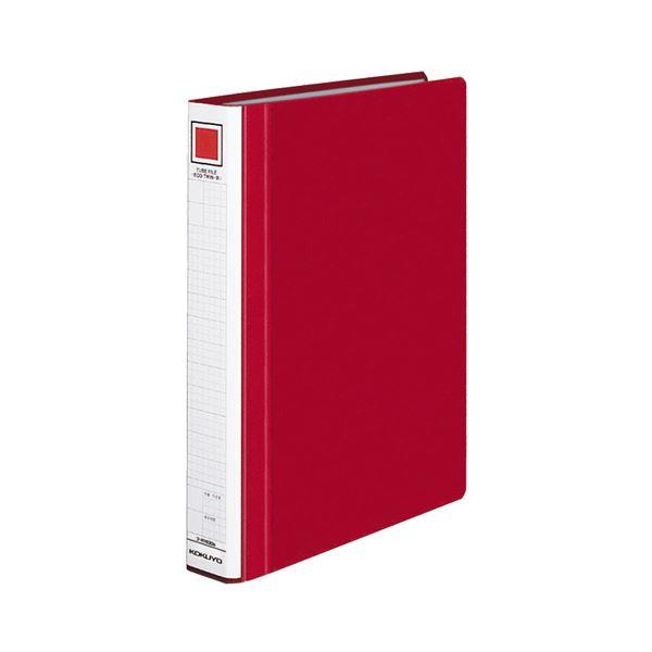 (まとめ) コクヨ チューブファイル(エコツインR) A4タテ 300枚収容 背幅45mm 赤 フ-RT630R 1冊 【×10セット】