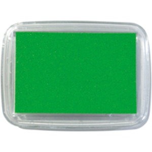 (まとめ)紙用インクパッド S4102-106 スプリング緑【×30セット】