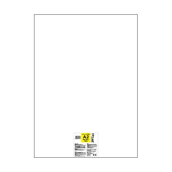 ヒサゴ フジプラ ラミネートフィルムCPリーフ A2 100μ CP1043060Y 1パック(100枚)