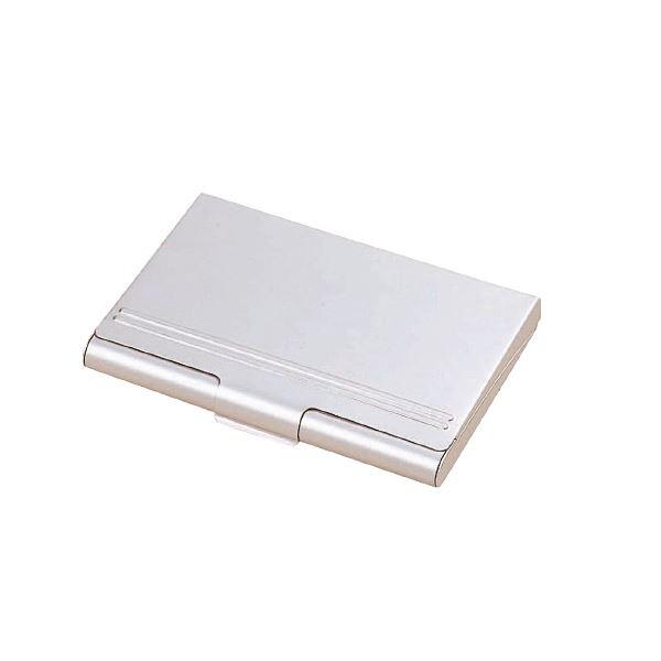 (まとめ)レイメイ藤井 アルミカードケース 35枚整理 収納 CHA520【×50セット】