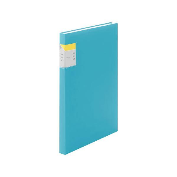 (まとめ) キングジム クリアファイルカキコA4S 40P 8632Wミス【×10セット】