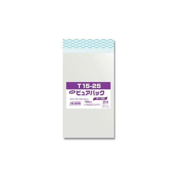 (まとめ) シモジマ Nピュアパック T15-25 100枚入 【×20セット】