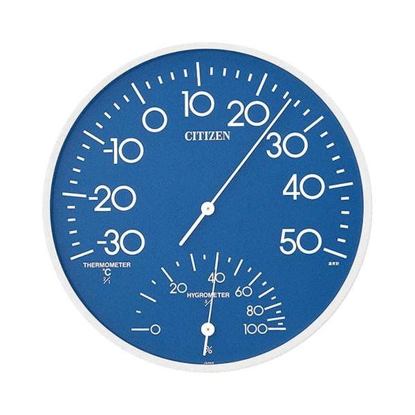 ダイエット 健康 健康器具 温度計 湿度計 (まとめ) リズム時計 シチズン 温湿度計 TM-108【×3セット】