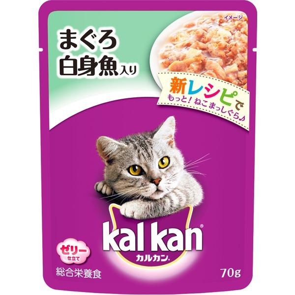 (まとめ)カルカン パウチ まぐろ 白身魚入り 70g【×160セット】【ペット用品・猫用フード】