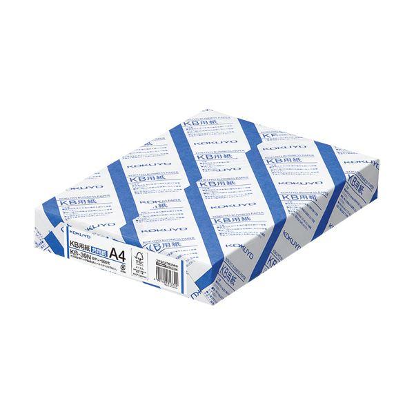(まとめ)コクヨ KB用紙(共用紙) A4KB-39N 1箱(2500枚:500枚×5冊) 【×2セット】