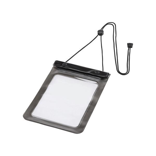 (まとめ) タブレットPC パソコン 防水ケース7型 ストラップ付 PDA-TABWP7 1個【×3セット】
