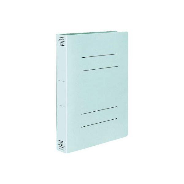 (まとめ) コクヨ フラットファイルX(スーパーワイド) A4タテ 400枚収容 背幅43mm 青 フ-X10B 1セット(10冊) 【×10セット】