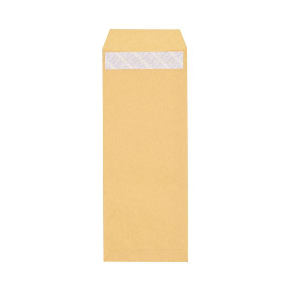 (まとめ) ピース R40再生紙クラフト封筒 テープのり付 長40 70g/m2 〒枠あり 業務用パック 453-80 1箱(1000枚) 【×5セット】