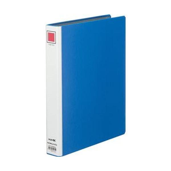 (まとめ)コクヨ K2両開きチューブファイルA4タテ 30mmとじ 青 K2フ-ETB630B 1セット(10冊)【×3セット】