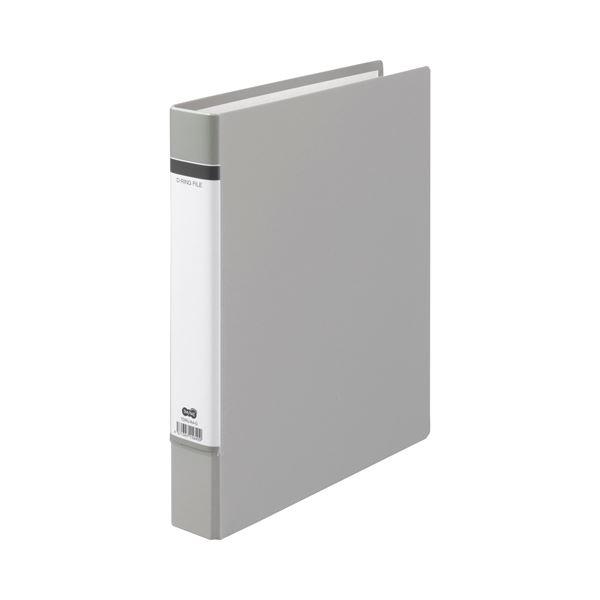 リングファイル Dリングファイル まとめ TANOSEE Dリングファイル 貼り表紙 送料無料 A4タテ 1冊 ×30セット 背幅50mm グレー 320枚収容 2穴 超安い
