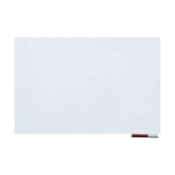 (まとめ)TRUSCO 吸着ホワイトボードシート600×900×1.0mm TWKS-6090 1枚【×3セット】 白