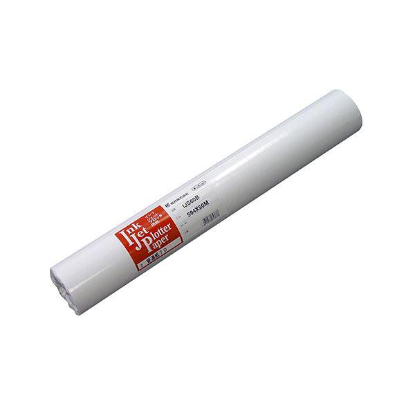 桜井 インクジェット用普通紙7024インチロール 610mm×50m IJS60Y 1箱(2本)