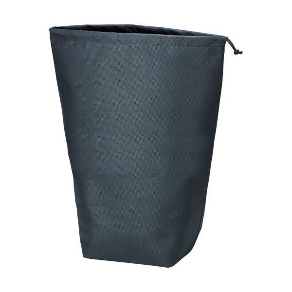 (まとめ) TRUSCO 不織布巾着袋 黒500×420×220mm TNFD-10-L 1パック(10枚) 【×5セット】