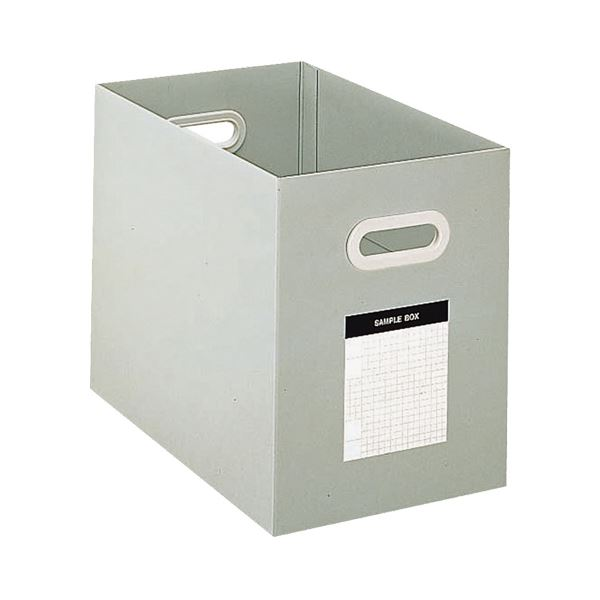 (まとめ) コクヨ サンプルボックス A4ヨコ 背幅204mm グレー A4-DFBN-M 1冊 【×10セット】