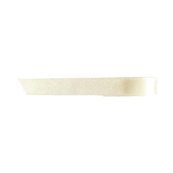 (まとめ) ヘッズ 片面サテンリボン幅10mm×30m アイボリー 1022R 1巻 【×30セット】 乳白色