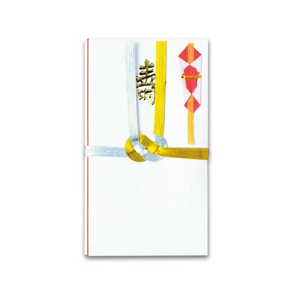 (まとめ) 赤城 金銀10本 結切 越前和紙 キ2008 1枚 【×50セット】