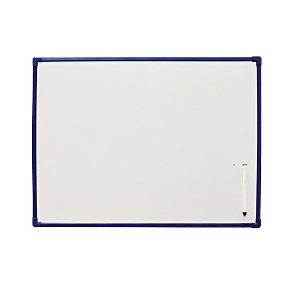 (まとめ) ホワイトボード600×450mm NWP-46 1セット(10枚)【×3セット】 白