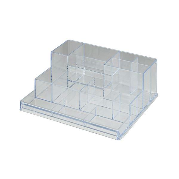 (まとめ) クルーズ マルチデスク (テーブル 机) オーガナイザークリア SDO-2500 1個 【×10セット】