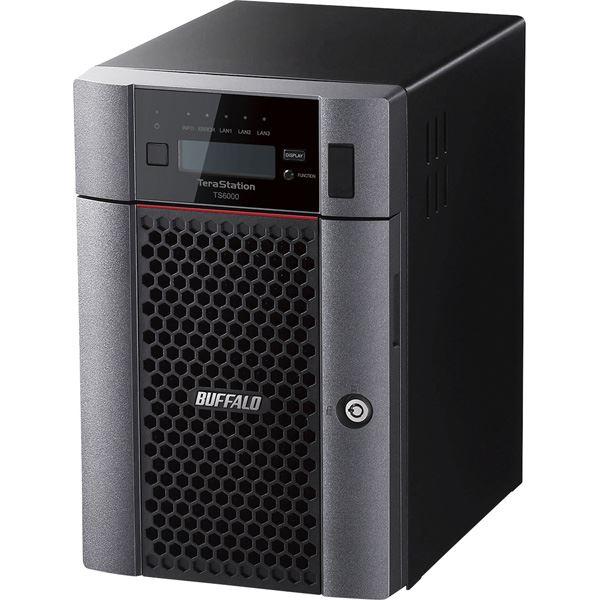 バッファロー TeraStation TS6000DNシリーズ 6ベイ デスクトップNAS 24TB
