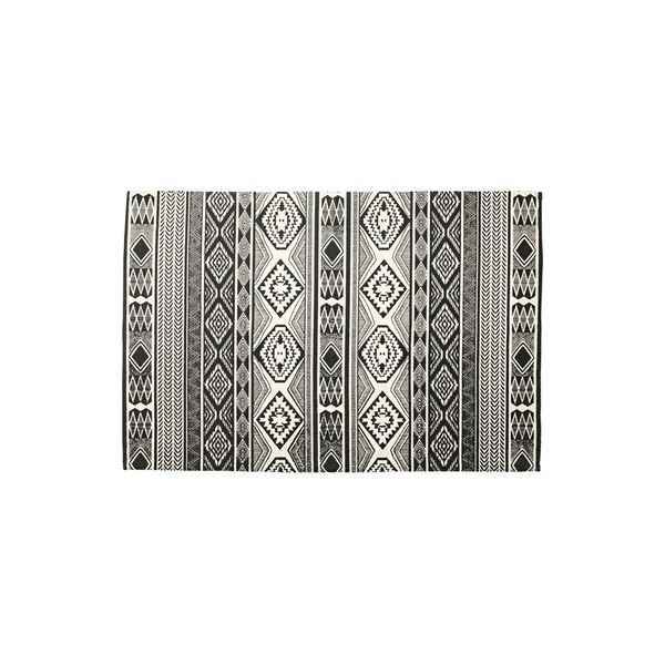 モダン ラグマット じゅうたん カーペット 敷き物 /絨毯 【130×190cm TTR-161C】 長方形 綿 インド製 〔リビング ダイニング フロア 居間〕