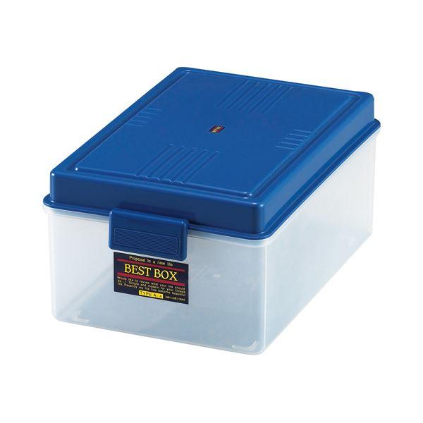 (まとめ) サンコープラスチック ベストボックス A4 348×236×164mm 162359 1個 【×10セット】