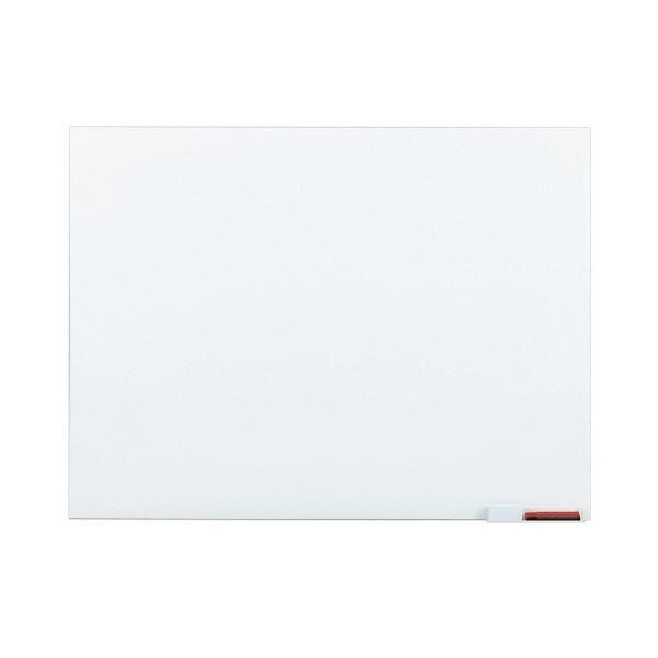 (まとめ)TANOSEE ホワイトボードシート スリムタイプ 1200×900mm 1枚【×3セット】 白