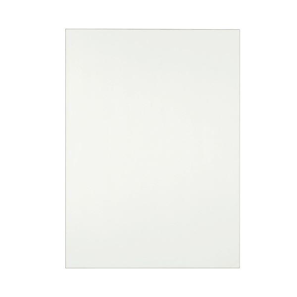 (まとめ) TANOSEE 模造紙(プルタイプ) 本体 788×1085mm 無地 再生ホワイト 1ケース(20枚) 【×10セット】 白