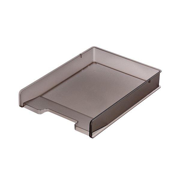 (まとめ) サンカ デスク (テーブル 机) トレー(高い耐久性 頑丈 トレー)A4タテ ブラウン SDT-PC パソコン SBR 1個 【×10セット】 茶