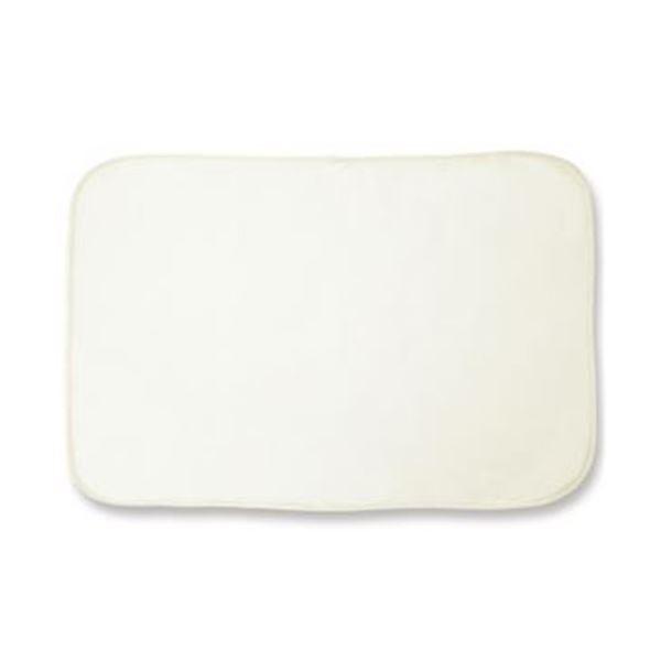 (まとめ)オーミケンシ フリースひざ掛けオフホワイト 1枚【×20セット】 白