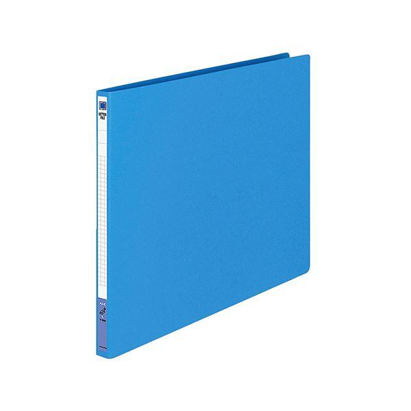 (まとめ) コクヨ レターファイル(色厚板紙) A3ヨコ 120枚収容 背幅20mm 青 フ-558B 1冊 【×30セット】