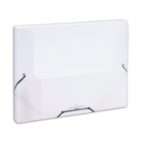 (まとめ) ビュートン ドキュメントボックス A4 背幅33mm クリヤー NDB-A4-C 1冊 【×30セット】