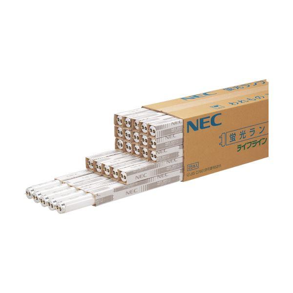 (まとめ) NEC 蛍光ランプ ライフライン 直管グロースタータ形 20W形 昼光色 FL20SSD18/4K-L 1パック(4本) 【×10セット】