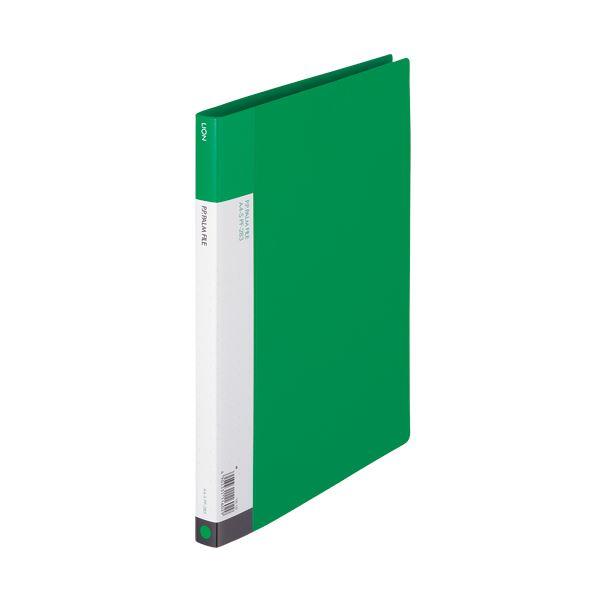 (まとめ) ライオン事務器 PPパームファイル強化Z式 A4タテ 120枚収容 背幅17mm 緑 PF-283 1冊 【×30セット】