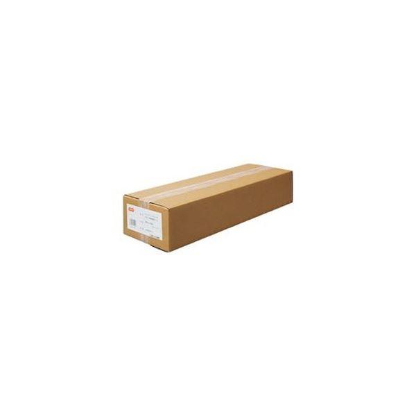 (まとめ)TANOSEEインクジェットプロッタ用普通紙 A0ロール 841mm×50m 1箱(2本)【×3セット】