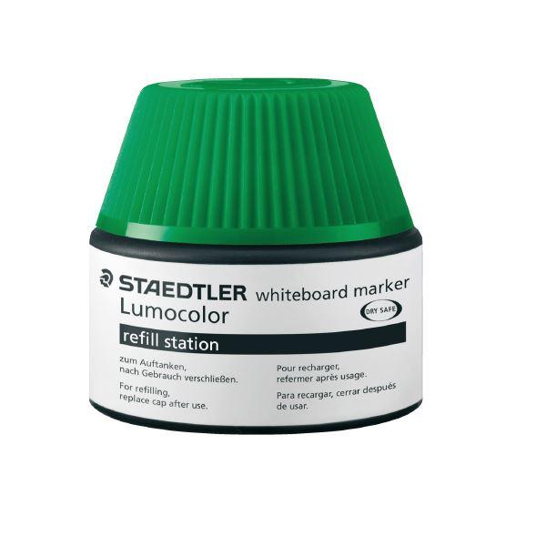 (まとめ)ステッドラー ルモカラーボードマーカーインク グリーン【×30セット】 緑