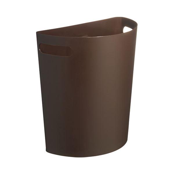(まとめ) 伊勢籐 壁掛けダストボックス ブラウン I-525BR【×5セット】 茶