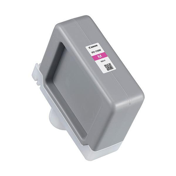 (まとめ)キヤノン インクタンク PFI-110Mマゼンタ 160ml 2366C001 1個【×3セット】