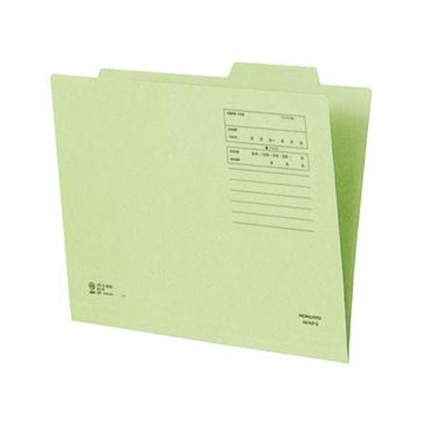 (まとめ)コクヨ 個別フォルダー(間伐材使用)A4 緑 A4-KIF-G 1セット(10冊)【×10セット】