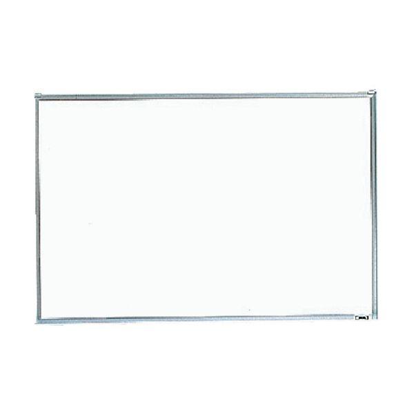 (まとめ)TRUSCO 金属 スチール 製ホワイトボード無地 粉受付 450×600 GH-132 1枚【×3セット】 白
