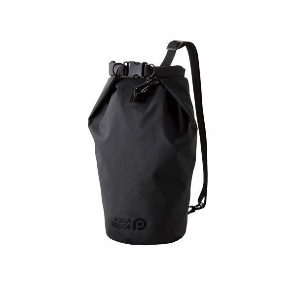 エレコム 防水・防塵バッグ ドライバッグ Lサイズ 10L ブラック P-WPBD10BK 黒