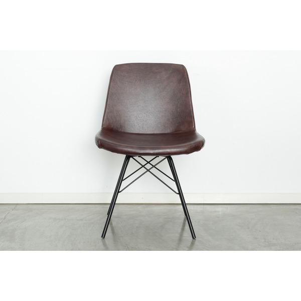 ビンテージ チェア (イス 椅子) イームズ KT-88チェア ブラウン BR 茶