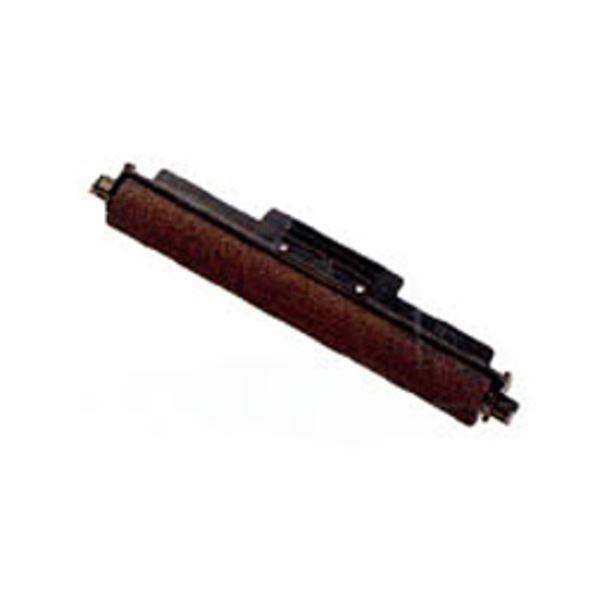 (まとめ) シャープ 電子レジスタ用インキローラー黒 TY124AB 1個 【×10セット】