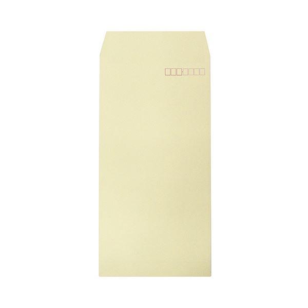 (まとめ) ハート 透けないカラー封筒 長3パステルクリーム XEP293 1パック(100枚) 【×10セット】