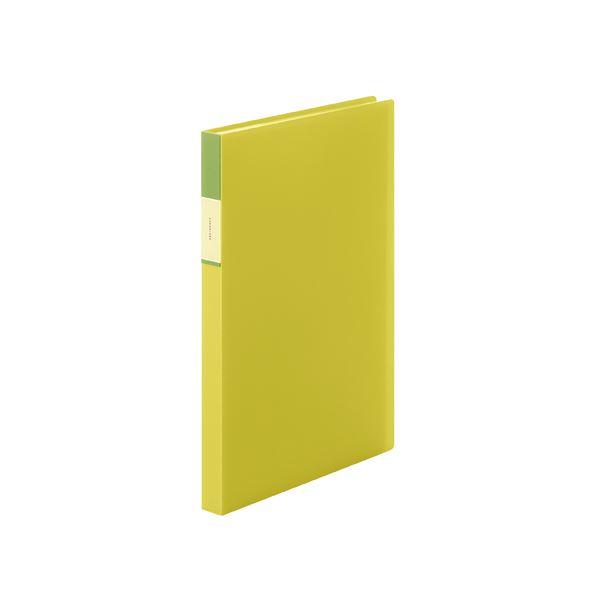 (まとめ) キングジム フェイバリッツ クリアーファイル 透明 A4 40P 黄【×20セット】