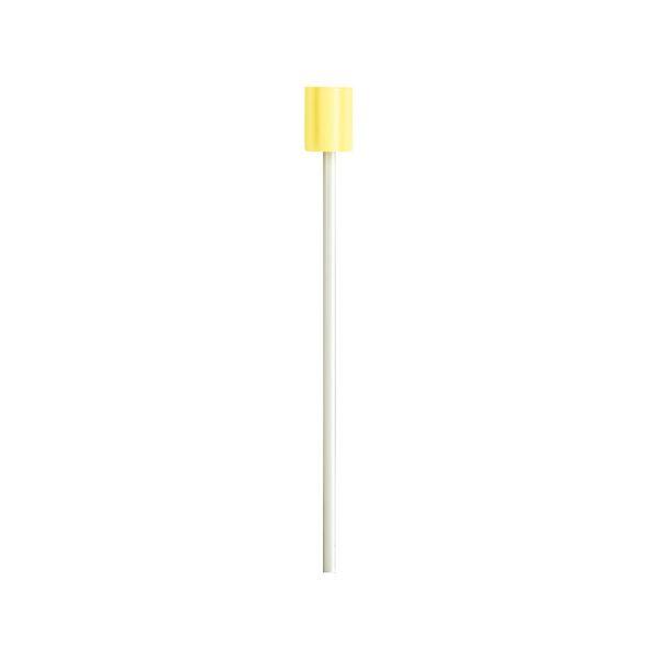 (まとめ)口腔ケアスポンジプラスチック軸S50本【×5セット】