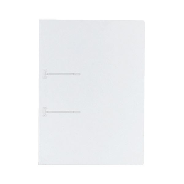 (まとめ) コクヨ ファスナーファイル(クリヤーカラー) A4タテ 2穴 90枚収容 透明 フ-P170T 1冊 【×100セット】