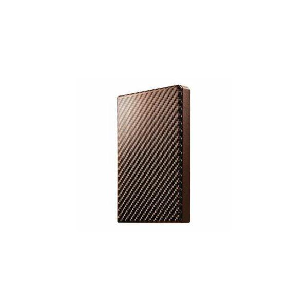 IOデータ USB 3.1 Gen 1対応 ポータブルHDD ブリックブラウン 500GB HDPT-UTS500BR 茶